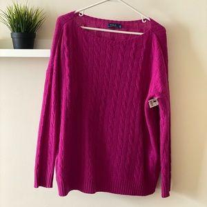 Polo Ralph Lauren sweater.